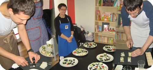 ateliers cuisine - espace lyon-japon - Formation Cuisine Japonaise